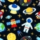 Space Seamless Pattern - GraphicRiver Item for Sale