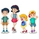 Four Siblings - GraphicRiver Item for Sale