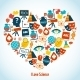 Education Heart Concept - GraphicRiver Item for Sale