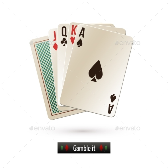 GraphicRiver Game Cards Isolated 9190475