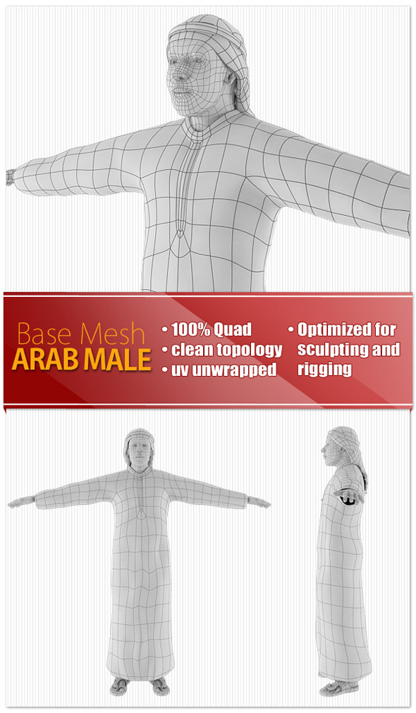 3DOcean Arab Male 9190547
