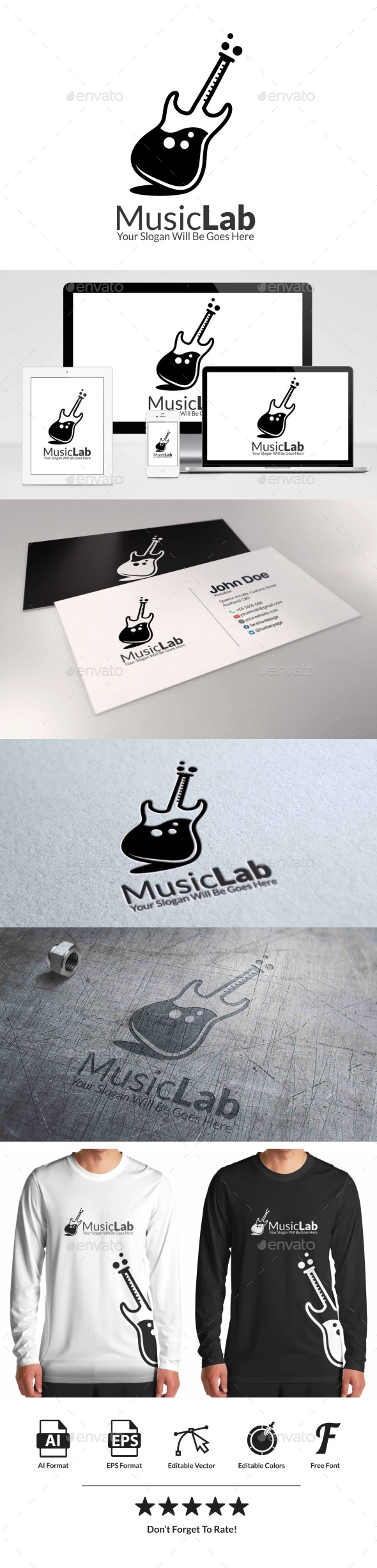 GraphicRiver Music Lab 9190684