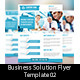 Business Solution Flyer Template 02 - GraphicRiver Item for Sale