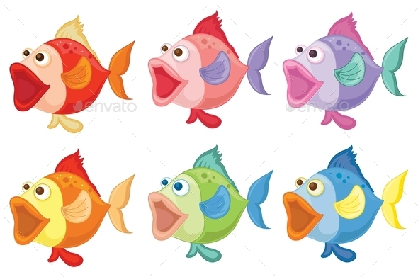 GraphicRiver Smiling Fishes 9190819