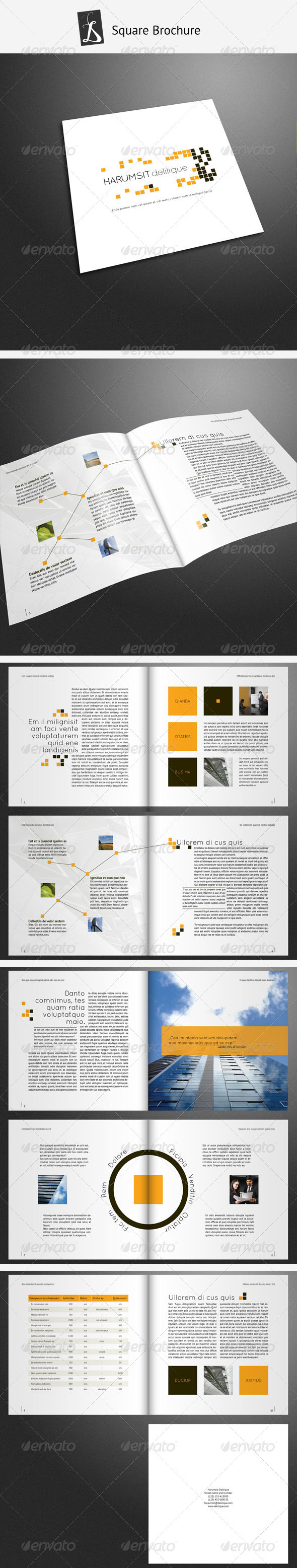 GraphicRiver Corporate Brochure 15 938361