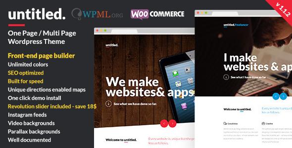 Untitled - Creative Multipurpose WordPress Theme - Creative WordPress
