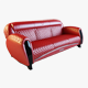 Carbon Imola Sofa - 3DOcean Item for Sale