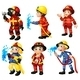 Firemen - GraphicRiver Item for Sale