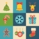 Merry Christmas Icon - GraphicRiver Item for Sale