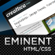 Eminent (HTML), an ultra clean & professional site - ThemeForest Item for Sale