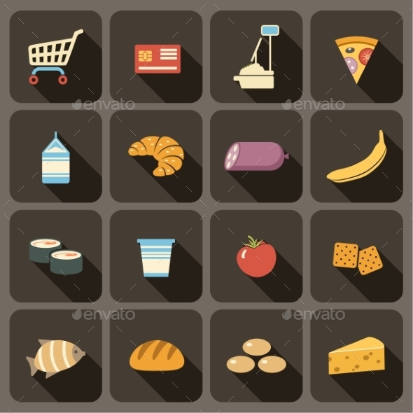 GraphicRiver Flat Icons Set for Web and Mobile Applications 9191754