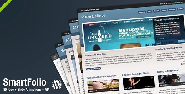 SmartFolio WordPress Theme