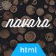 Navara - Responsive Single Page HTML Template - ThemeForest Item for Sale