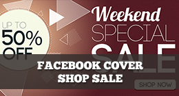 Facebook cover shop sale