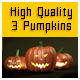 Three Pumpkins High definition - GraphicRiver Item for Sale