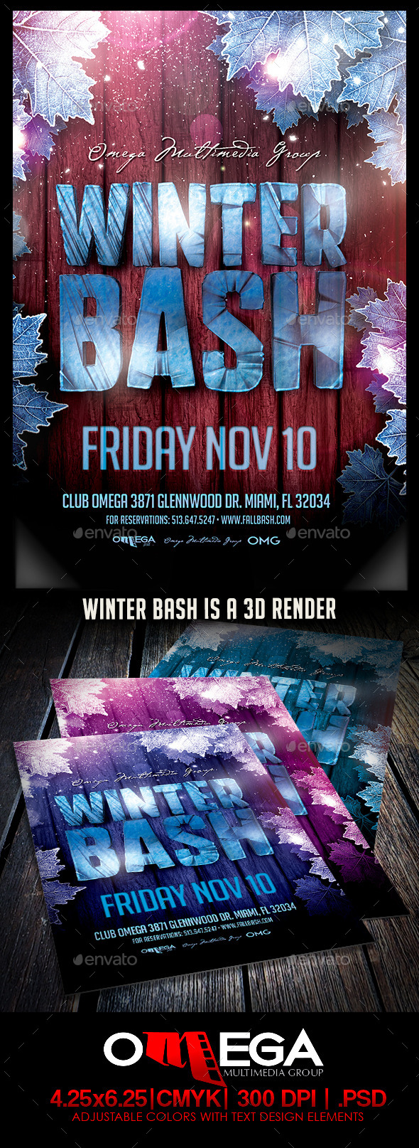 GraphicRiver Winter Bash 9192411