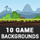 10 Fresh Game Backgrounds - GraphicRiver Item for Sale
