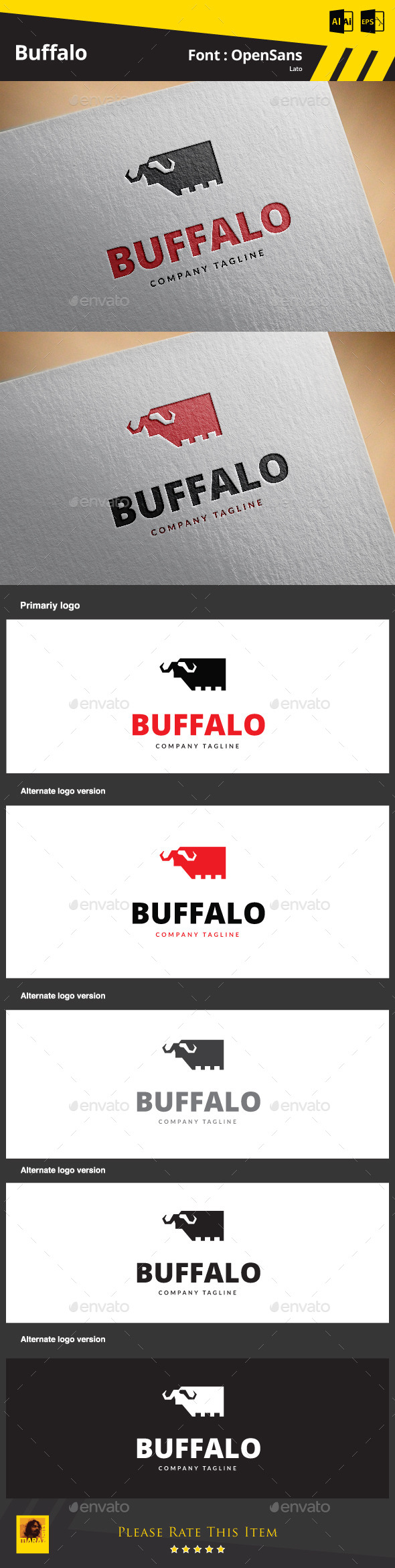 GraphicRiver Buffalo 9192561