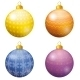 Christmas Decoration Balls - GraphicRiver Item for Sale