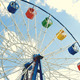 Underside View Of A Ferris Wheel  - VideoHive Item for Sale