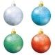 Christmas Decoration Balls - GraphicRiver Item for Sale