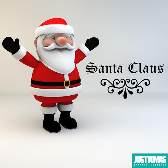 3DOcean Santa Claus 9192757