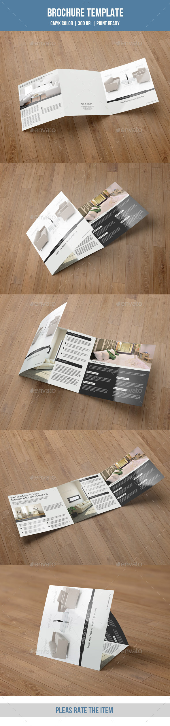 GraphicRiver Minimal Square Trifold for Interior Design-V41 9192777