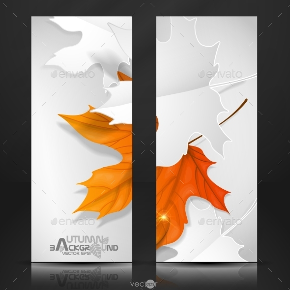 GraphicRiver Autumn Leaves Background 9192780