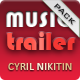 Epic Trailer Music Pack - AudioJungle Item for Sale