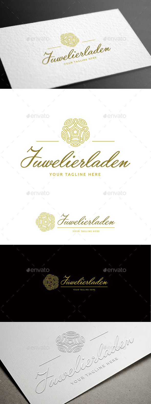 Juwelierladen Logo Template