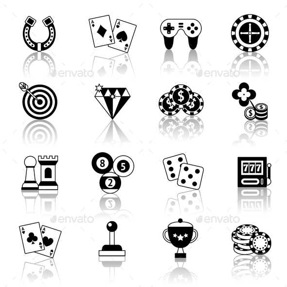 GraphicRiver Game Icons Set 9193218