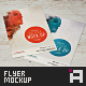 Flyer Mock-Up • for 4x6 - GraphicRiver Item for Sale