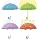 Umbrellas Set - GraphicRiver Item for Sale