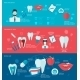 Teeth Banner Set - GraphicRiver Item for Sale