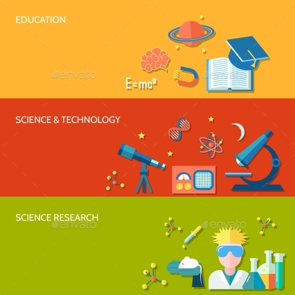 GraphicRiver Science and Research Banner 9193715