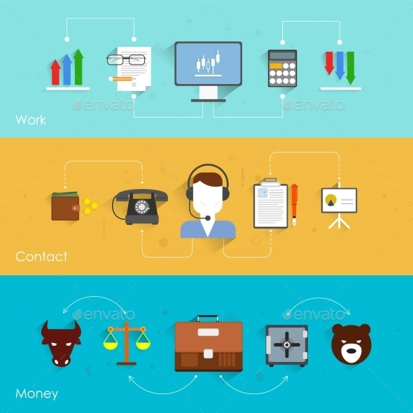 GraphicRiver Finance Exchange Banner 9193795