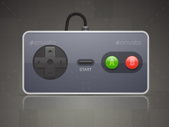 GraphicRiver Retro Joypad 9193799