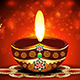 Diwali Background With Deepak - GraphicRiver Item for Sale
