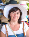 happy woman in a hat - PhotoDune Item for Sale