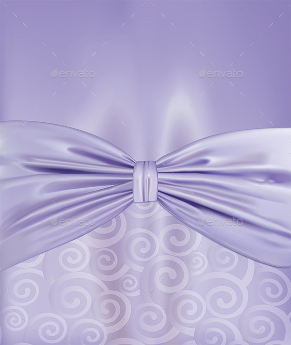 GraphicRiver Background with a Bow 9194263