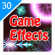 30 Game Effects - GraphicRiver Item for Sale