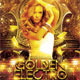 Golden Electro Vibes Party Flyer - GraphicRiver Item for Sale