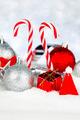 Christmas decor on snow - PhotoDune Item for Sale