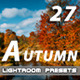 27 Autumn Lightroom Presets - GraphicRiver Item for Sale