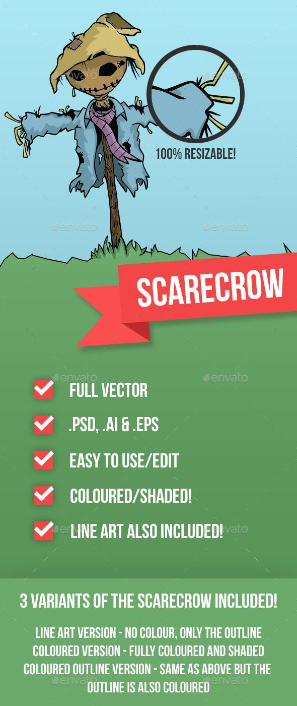 GraphicRiver Scarecrow 9167691