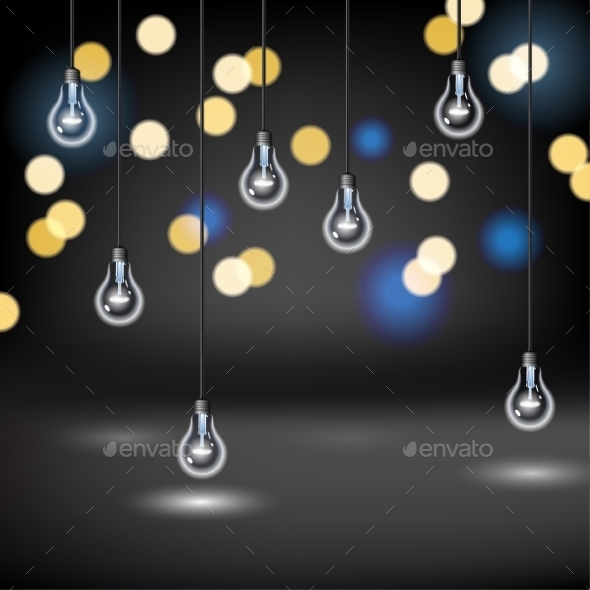 GraphicRiver Light Bulb Background 9194855