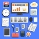 Office Work Elements - GraphicRiver Item for Sale