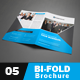 Corporate Bi-fold Brochure 05 - GraphicRiver Item for Sale