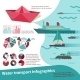 Water Transport Infographics - GraphicRiver Item for Sale