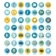 Social media, Seo, Online Shopping Icons - GraphicRiver Item for Sale